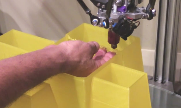 Building bridges: saving a 3D print using my hands