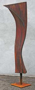 Torsional Twist, a sculpture by Kevin Caron
