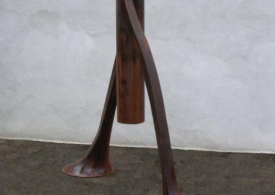 BobbyPin, a steel sound sculpture by Phoenix artist Kevin Caron.