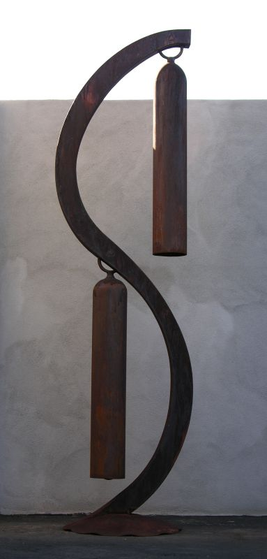 Duet, a 2-bell giant windchime - Kevin Caron