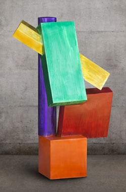 Building Blocks, a contemporary art sculpture by Kevin Caron