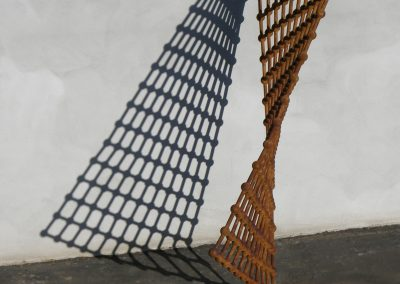 Genome Project, a free-standing, kinetic, fine art sculpture by Phoenix artist Kevin Caron.