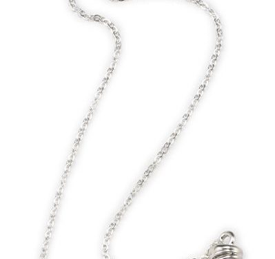 Campfire Necklace, Silver