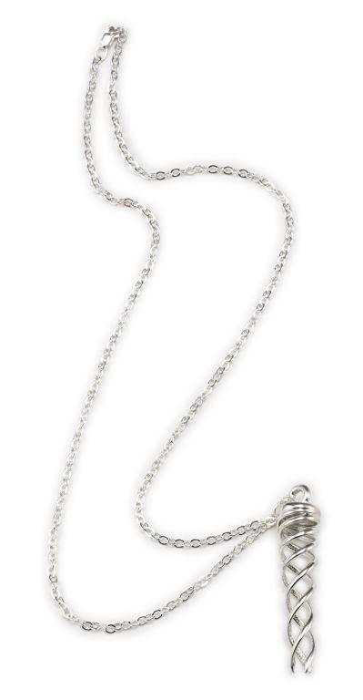 Campfire Necklace, Silver