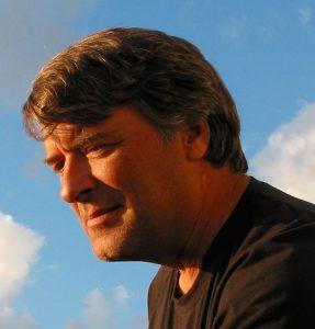 Sculptor Kevin Caron