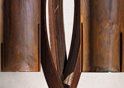 Bellflower, a steel bell by Phoenix artist Kevin Caron.