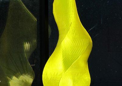 Limoncello, a 3D printed fine art sculpture by Phoenix artist Kevin Caron.
