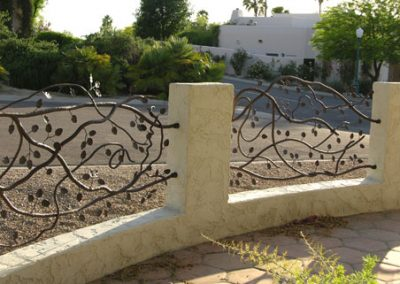 Tenacity, an architectural sculpture by Phoenix artist Kevin Caron.