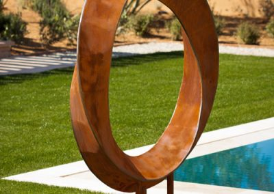 Torrent, a fine art free-standing sculpture by Phoenix sculptor Kevin Caron.