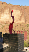 BackFlip, an Outdoor Sculpture by Kevin Caron
