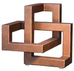 Knot Me, a contemporary sculpture by Phoenix artist Kevin Caron