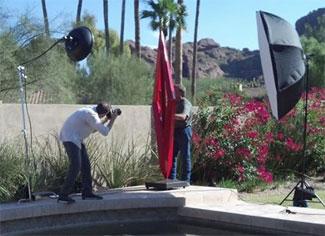 Photo shoot of Kevin Caron for Phoenix Magazine