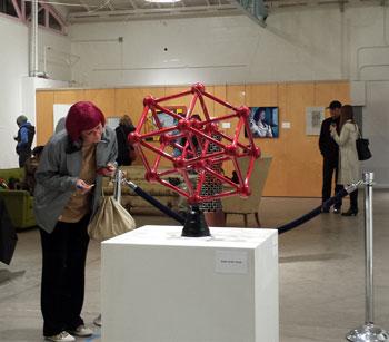 Redhead and Tess, Fiasco, Frontal Lobe Gallery, Phoenix AZ