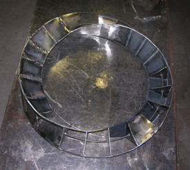Untitled torus, a fine art free-standing sculpture by Kevin Caron
