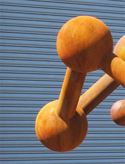 Cosmos, a fine art free-standing sculpture by Phoenix sculptor Kevin Caron