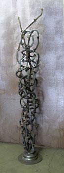 An untitled fine art free-standing sculpture by Phoenix sculptor Kevin Caron