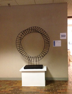 Skeletorus, a fine art sculpture by Phoenix artist Kevin Caron at ArtPrize