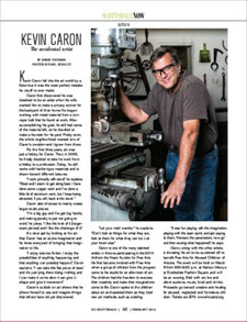 So Scottsdale article about Kevin Caron (February 2014)