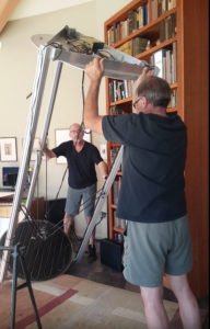 Installing the 8-foot-tall Gigante 3D printer - Kevin Caron