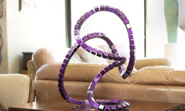 Violet Scribble