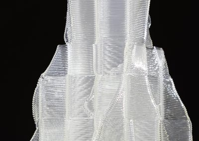 Inside Out, a 3D printed sculpture designed by Kevin Caron - Kevin Caron