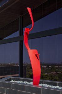 BackFlip, a fine art sculpture - Kevin Caron