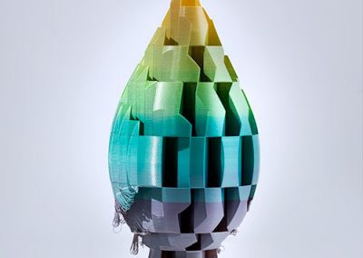 Candy Cone, a contemporary 3D printed sculpture - Kevin Caron