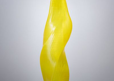 Solar Flare, a 3D-printed, lighted contemporary art sculpture - Kevin Caron