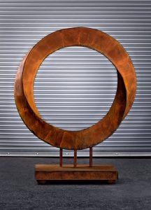 Torrent, a fine art sculpture - Kevin Caron