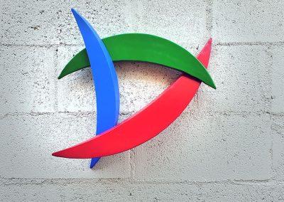 Bob wall sculpture