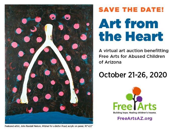 2020 Free Arts Art From the Heart Auction, Arizona