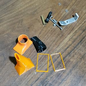 3D printed parts for 3D printer cooling fan - Kevin Caron