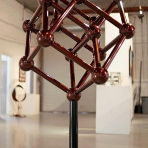 Tesseraction, a kinetic contemporary sculpture - Kevin Caron