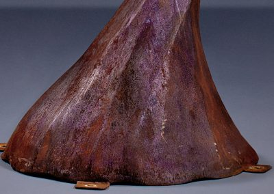 Bigfoot, a steel sound sculpture designed by Kevin Caron - Kevin Caron