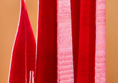 Scarlet Spires, a 3D printed sculpture designed by Kevin Caron - Kevin Caron