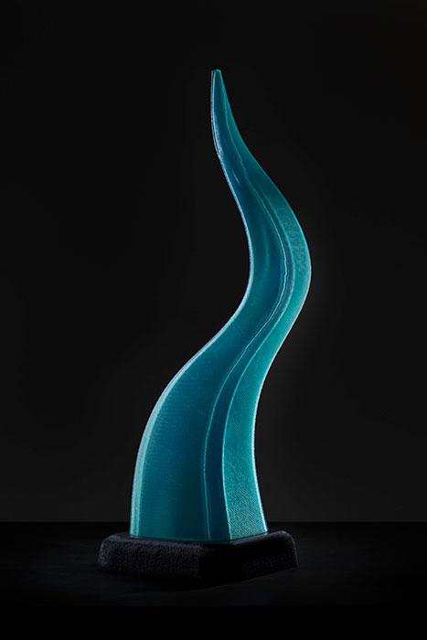 Drip, a 3D-printed contemporary sculpture - Kevin Caron