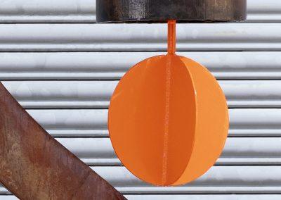 Ovation, a steel sound sculpture designed by Kevin Caron - Kevin Caron